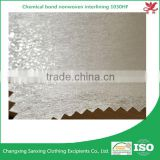 Non woven interling fusible fabric 1030HF garment accessories