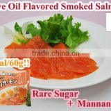 Japanese very healthy konjac mannan meal Olive Oil Flavored Smoked Salmon 60g