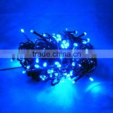 Solar 200leds 5v flash palm outdoor courtyard angel Colorful holiday transformer decorations hanging led tree string mini Light