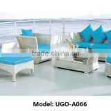 Morden poly rattan outdoor furniture with cushions