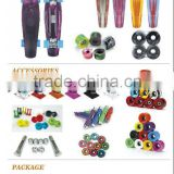 Skateboard longboard parts for complete mini cruiser board