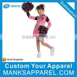 good sublimation cheer team uniforms