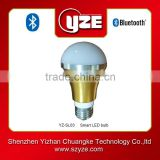 Hot sale smart RGB LED bulb 220v controlled by mobile app