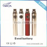 2013 Hottest and newest Replaceable Bottom evod starter kit with variable voltage battery, made in China