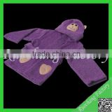 Promotional kids cotton terry bathrobes&cheap bathrobes for kids&kids cotton terry bathrobes