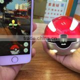 Factory Wholesale Lowest price YOVENTE pokemon go ball bank power for iPhone 5 4, iPad, mobile phone                                                                                                         Supplier's Choice