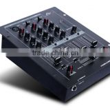 Made in China Professional 3 Channels Audio DJ Mixer Console