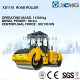 Hydraulic double drum vibratory roller XD81E roller (Operating mass:8000kg, Engine power: 74.9kw)