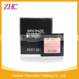 Party Queen fashion color highlighter bronzer blusher eyeshadow have mirror and brush free