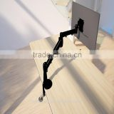 Full motion Monitor Mount LCD arm single arms rotating lcd monitor arm monitor stand vesa monitor arm
