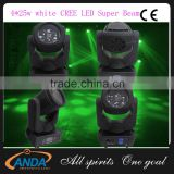 2016 Professional Stage Night Club 4pcs*25W LED Moving Head Beam Light
