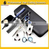 "HUNTERrapoo 6"" Beauty Hair Salon Scissors Set,Razor Edge Cutting Scissors & Thinning Shears"