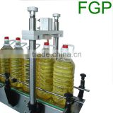 Semi-automatic pneumatic oil capping machine/oil bottle cap press sealing machine capper machine