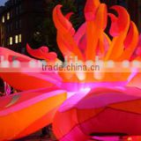 HOT sell ! 2015 inflatable Star / inflatable flowers with LED for all kins of event decoration