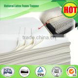 7 Zones Horse Hair Filter Mat Latex Topper