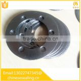 Expanded graphite gasket stainless steel reinforced graphite gasket made in China Reinforce graphite flange gasket