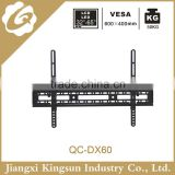 Economical adjustable led tv wall mount 15 degree tilt tv bracket black mount 32 to 65 inc tvs