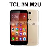 TCL 3N M2U Original 4G LTE Cell Phones Android 4.4.4 MTK6752 Octa Core 2GB RAM 16GB ROM Dual SIM 8MP 13MP Camera GPS OTG Mobile