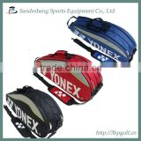 Badminton sports bag with shoe compartment