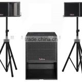 line array active DSP speaker box T2 system