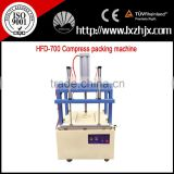 Compress packing and sealing machine for pillows