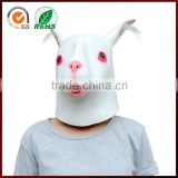 Halloween Cosplay Party Costumes Animal Rabbit Realistic Female Latex Mask for Crossdressing