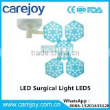 high quality ceiling led surgical shadowless lamp ot light LED operating examination lamp LED5