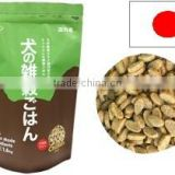 Reliable and Organic Japanese dog food packaging bag , Flour-free , additive-free