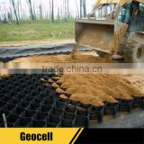 Plastic Gravel and Road Grid Panel HDPE Honeycomb Geo-cell
