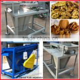 New Design and High Yield!! walnut sheller/walnut nut dehulling machine/walnut shell removal machine