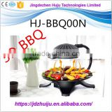 Outdoor Korean Barbecue Grill Table Electric Rotating BBQ Grill