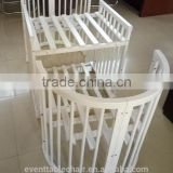 multi-purposes secure healthy wooden multi-purposes baby crib baby bed baby room furniture
