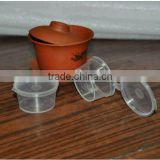 1OZ PP saucer container with lid