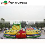 Commercial Octopus Inflatable Water Park Slide Outdoor Inflatable Pool Slide Giant Floating Wate Slide