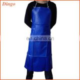 2015 cheap fashion promotion kitchen plastic aprons for adults
