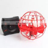 Suspend Automatic Sensor RC Flying flat ball Toy flying doll induction aircraft