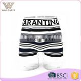 Stripe printing waist letter decoration breathable seamless underwear boxer
