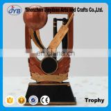 Copper gold cup Baseball resin decoration Wholesale of Arts and crafts