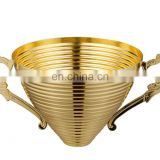 Match metal trophi part for sports award