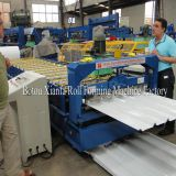aliminium profile roof panel roll forming iron sheet making machine