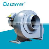 Centrifugal Type Kitchen Use High Speed Fume Extractor Fan Chimney Blower