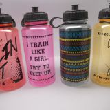 1000ml Victoria's Secret Big Large Capacity Tritan PET PC Sport Water Bottle
