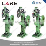 Electric riveting machine china for PP box, hand riveting machine, semi-tubular rivet machine