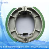 RS125 Motorcycle  brake shoes,green soft brake lining,good quality