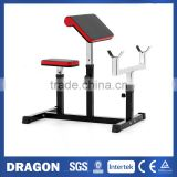 OLYMPIC SEATED PREACHER ARM CURL BICEPS FOREARM TRICEP EXERCISE WEIGHT BENCH & DUMBBELL HOME GYM WORKOUT