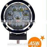 5.5 inch led light bar 45w led offroad spot light High bright 45w led work light spot for 400meter 10V-30V LED WORK LIGHT