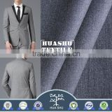Resistance wrinkle High quality special polyester Plain Shining Business suits fabric for men