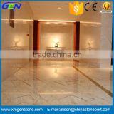 Natural Polished Cream Beige Marble Tiles For Interior Decoration