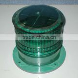 Green Customized Solar LED Flashing Warning Light ( Airport, Coast,Beacon,Ship,Boat,Yacht )