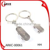 fashion jewelry 2015 steel jewelry cute design couple keychains